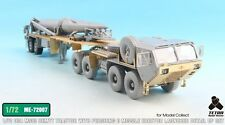 Tetra Model ME72007 1/72 M983 Tractor w/Pershing II Detail Up for Model Collect