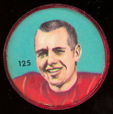 1963 CFL NALLEY'S FOOTBALL COIN #125 EARL LUNSFORD EX-NM Calgary Stampeders
