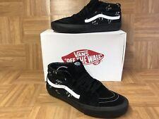 d1a50304949cff RARE🔥 VANS x Supreme Sk8-Mid EAT ME Black Leather Skateboarding PRO Shoes  Sz