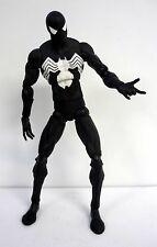 "SPIDER-MAN BLACK COSTUME Marvel Legends Toy Biz 12"" Action Figure COMPLETE 2006"