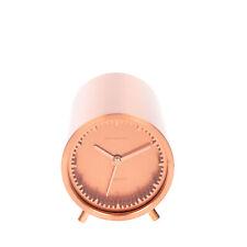 Leff Amsterdam Tube Clock Stainless Steel Quartz Designed by Piet Hein Eek