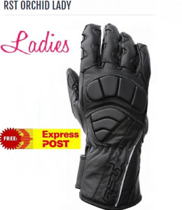 RST Orchid Female Motorcycle Gloves NEW XS Womens Leather rrp$69