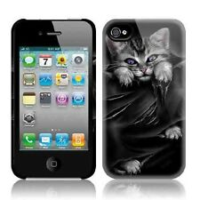 Spiral Direct BRIGHT EYES Apple iPhone 4/4S Mobile Phone Case/Cover, cat/kitten