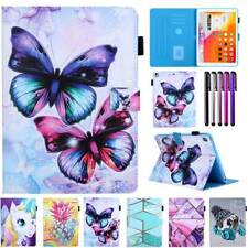 Shockproof Cover For Apple iPad Series Smart Patterns Leather Stand Wallet Case