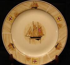 "Saling Boat By Winpat DINNER PLATE 10 1/2"""