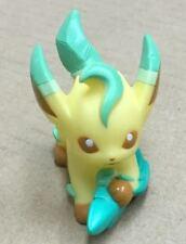 B. 13 Pokemon Finger Puppet Leafeon #470 Figure Catch Them All Nintendo Bandai
