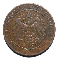 1892 German East Africa One 1 Pesa - Wilhelm II - Lot 975