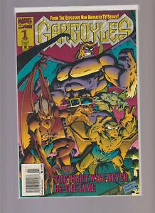 GARGOYLES 1 Newsstand 1995 RaRe DISNEY TV Show NM Marvel CGC BLU RAY