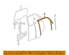 GM OEM Window Glass-Rear Door-Run Channel Left 15255583