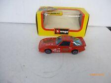RARE MAZDA RX7 Rouge / Red par BURAGO 4118 au 1/43 IN BOX