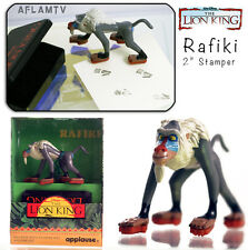 Lion King PVC Figure stamper By Applause Disney Rafiki - Before The Lion Guard
