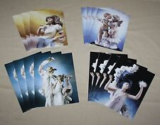 Lladro Stationery 15 Blank Note Cards & Envelopes 4 Designs 1998 Original Box