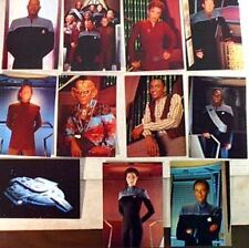Star Trek:Ds9 Crew Postcard Set of 11 Cards-Germany