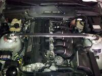 BMW E36 325 328 M3 ALUMINIUM ALLOY FRONT UPPER STRUT BRACE TRUSS BAR Z1176