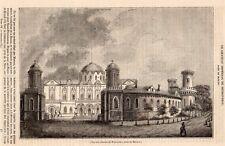 MOSCOU MOSKVA CHATEAU DE PETROVSKOI CASTLE ARTICLE 1841 CLIPPING