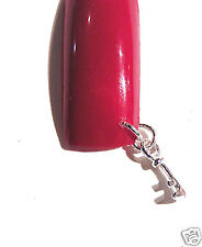 Piercing Bijou Ongle Argent 925 VERITABLE Clé Nail Art