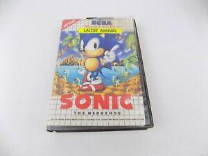 Sega Master System Sonic the Hedgehog 1 I First Game Free Postage