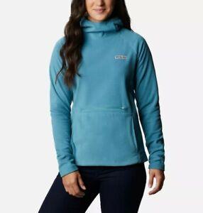 Columbia Women's Ali Peak Hooded Fleece Size: Large Colour: Canyon Blue