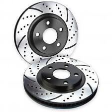 Brake Performance Cross Drilled Rotors (FRONT STANDARD) - 17'+ Fiat 124 Spider