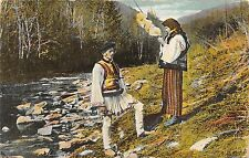 B71576 Port Popular Roman romania  types folklore costumes couple