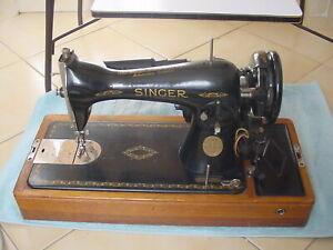 MACHINE À COUDRE SINGER ANCIENNE ÉLECTRIQUE