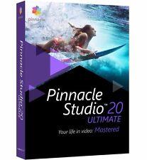 Pinnacle Studio 20 Ultimate - Video Editing Software for Windows ✔NEW✔