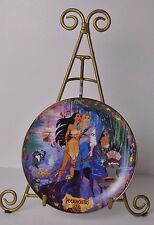 Bradford Disney Musical Plate 1997 Pocahontas Colors of the Wind