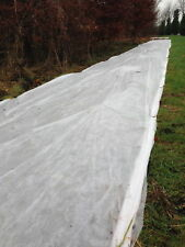 1.5m x 100m 17gsm Yuzet Frost Protection Fleece Winter Plant Cover Shrubs Crops