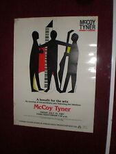 McCoy Tyner Poster Detroit 1987