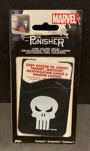 Marvel Punisher Card Holder Sticker Decal Chroma Graphics NEW