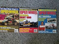 Open Wheel Magazine  March May and June 1995
