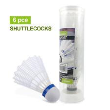 Shuttlecock 6pcs Set Exercise Training Nylon Badminton Ball High Quality Durable