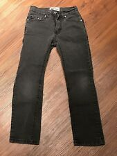 Chams Premium boys jeans size 8 Slim Fit Charcoal gray
