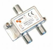 Triax 2 Way F-type 5-2400 MHz Splitter SCS 2-349802