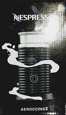 Nespresso Aeroccino 3 elektrischer Milchaufschäumer schwarz Neu & OVP