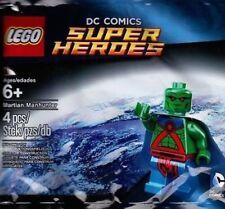 LEGO MARTIAN MANHUNTER MINIFIGURE DC COMICS SUPER HEROES 5002126 POLYBAG SET NEW