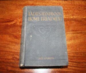 LADIES HANDBOOK OF HOME TREATMENT 1912 EDITION