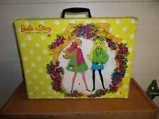 Mattel ~ Vintage Barbie and Stacey Sleep 'n Keep Carrying Case 1969