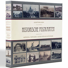 Leuchtturm 348003 Album for 600 Postcards Historical With 20 Covers TRA