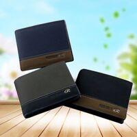 Men's Leather Business Wallet Pocket Card Clutch Bifold Money Slim Purse Hot
