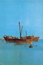 Dhow at anchor Boats