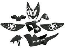 TNT accessoire de déguisement Kit 8 pièces Noir Mat pour yamaha aerox mbk nitro