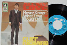 """CLIFF RICHARD -All My Love / Never Knew What Love Could Do- 7"""" 45 Columbia"""