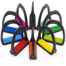 "Compositi Colored Premium Stirrup Irons - Size:4 3/4"" Color:Pink"