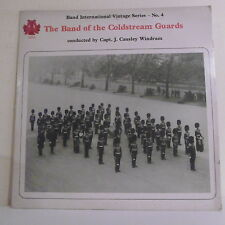 "33T THE BAND OF THE COLDSTREAM GUARDS Disque LP 12"" Causley WINDRAM - BIS 104"