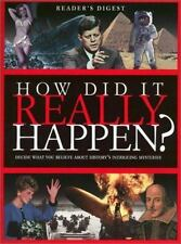 How Did it Really Happen? Editors of Reader's Digest Hardcover