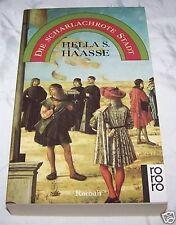 Die scharlachrote Stadt - Hella S. Haasse gebundene Ausgabe