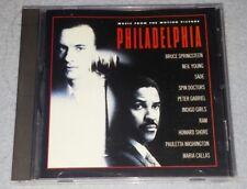 """PHILADELPHIA""  ~ (CD, 1994) ~  *** MOTION PICTURE SOUNDTRACK ***"