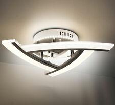 LED plafonnier applique Lewima Atika design triangle lampe 30W 45cm blanc chaud