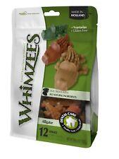 Whimzees Alligator Medium 12 Pack - Vegetarian Gluten Free Dog Chew Treat